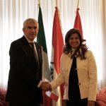 La Drssa Kader ha ricevuto il Presidente Casini